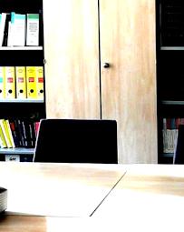 Arbeitszimmer und Außendienstmitarbeiter