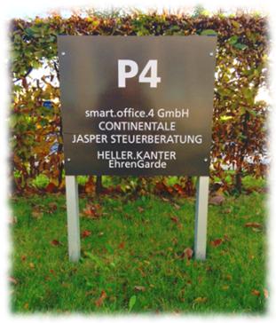 Jasper Steuerberater Köln - Kundenparkplätze