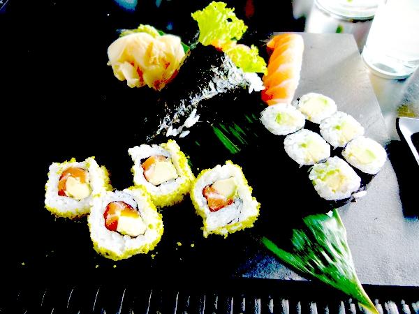 Bewirtung Sushi
