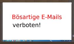 Betrüger Emails Schadsoftware