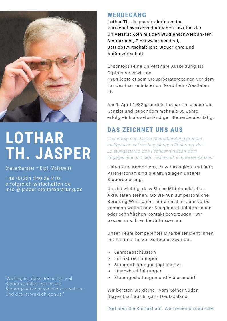 Steuerberater Köln Werdegang